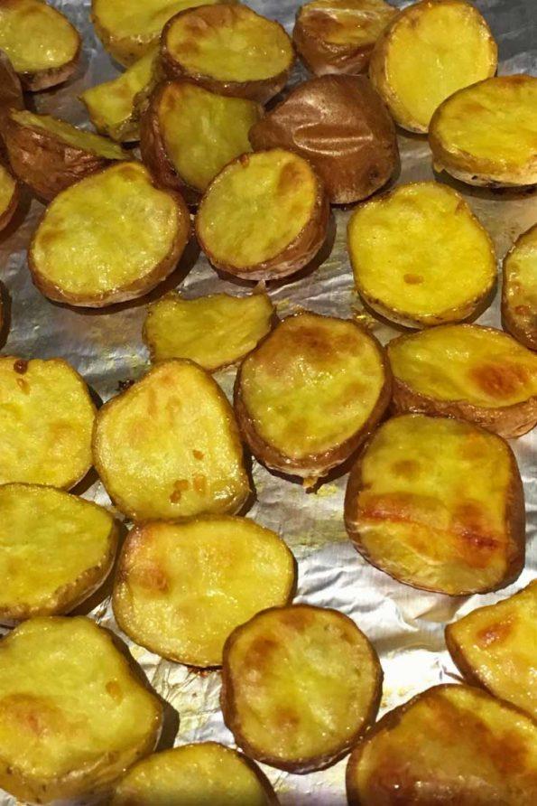 roasted creamer potatoes recipe