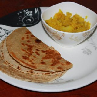 Side Dish For Chapathi – Curry For Chapathi & Poori