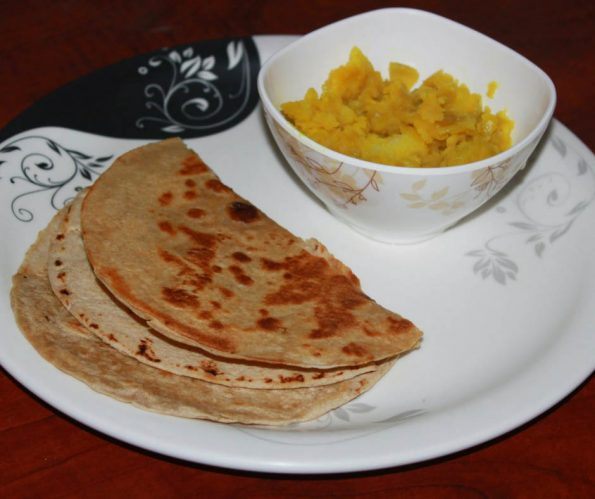 side dish for chapathi