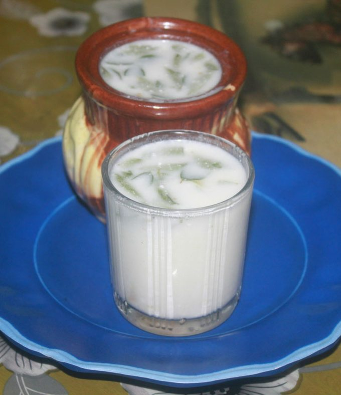 Indian Buttermilk Recipe – Simple Masala Chaas Recipe – Kerala Style Buttermilk Recipe