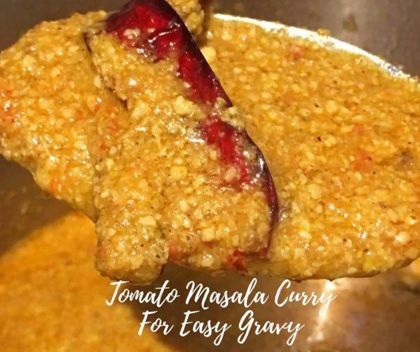 tomato masala curry recipe