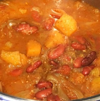 Vegan Butternut Squash Curry Recipe With Red Kidney Beans – One Pot Vegan Butternut Squash Curry Recipe