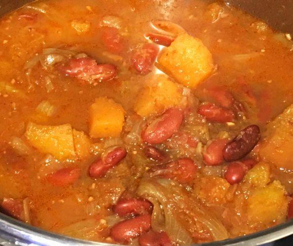vegan butternut squash curry recipe