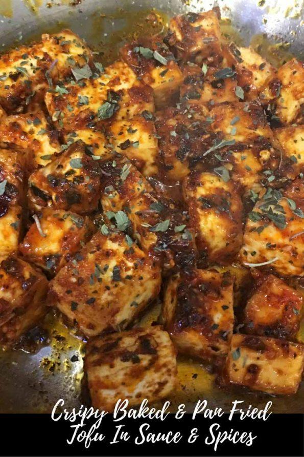 crispy tofu recipe baked fried