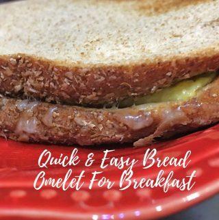 easy bread omelette recipe