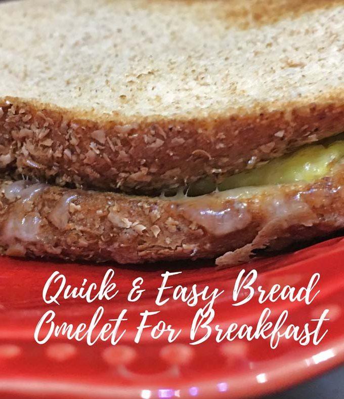 Easy Bread Omelette Recipe – How To Make Bread Omelette For Breakfast – Bread Omelet Recipe