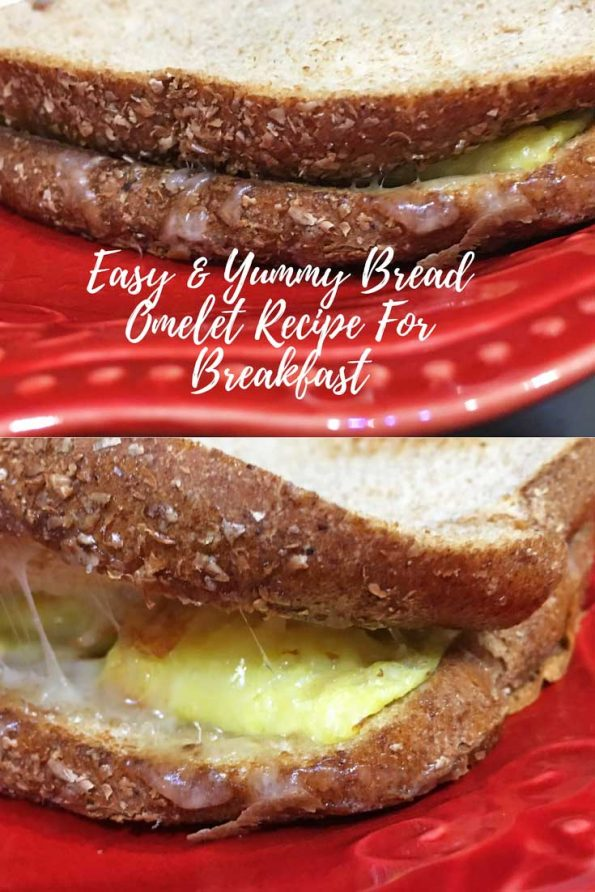easy bread omelette recipe for breakfast