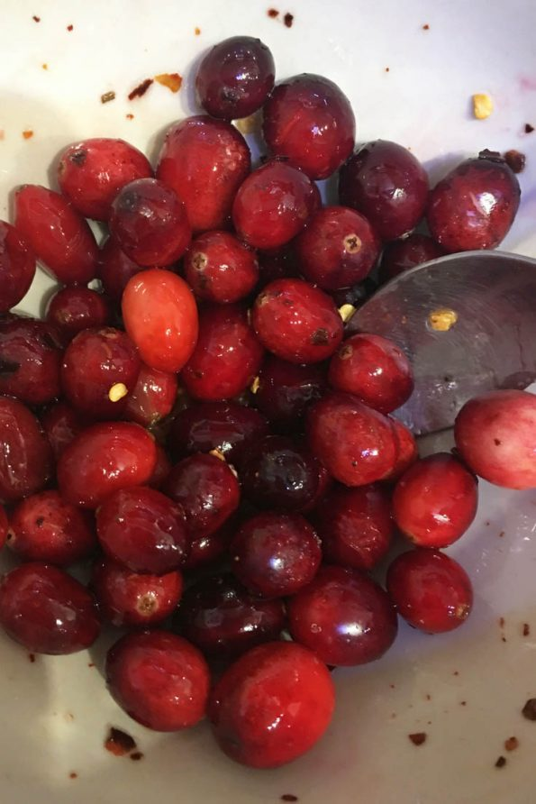 how to eat cranberries without sugar