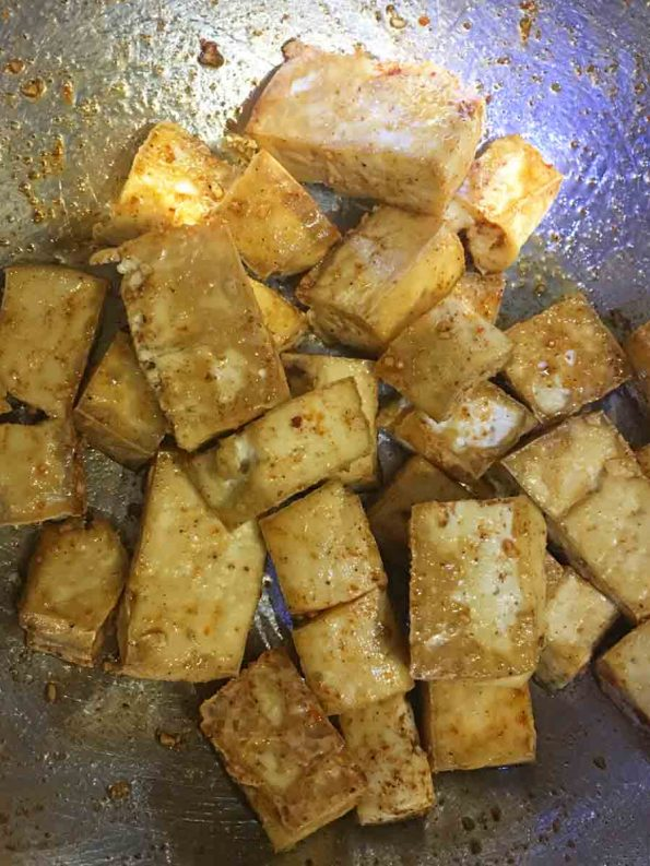 how to marinate tofu