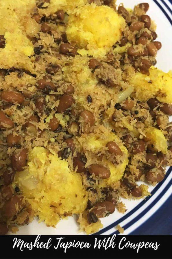 kappa vevichathu with payar kerala recipe