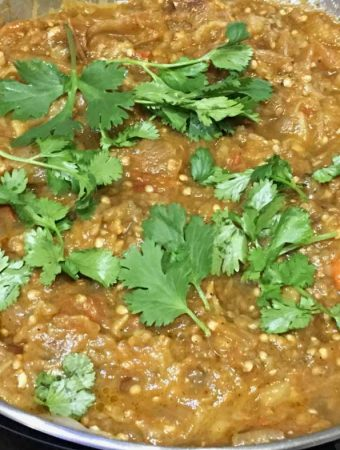 punjabi baingan bharta recipe