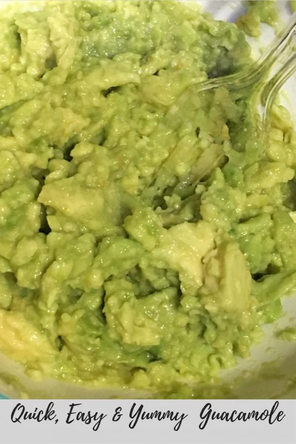 quick easy homemade guacamole recipe