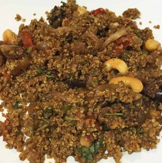 Quinoa Biryani Recipe – Indian Style Quinoa Biryani Recipe – Biryani Without Rice