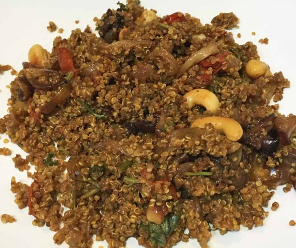 quinoa biryani recipe indian style