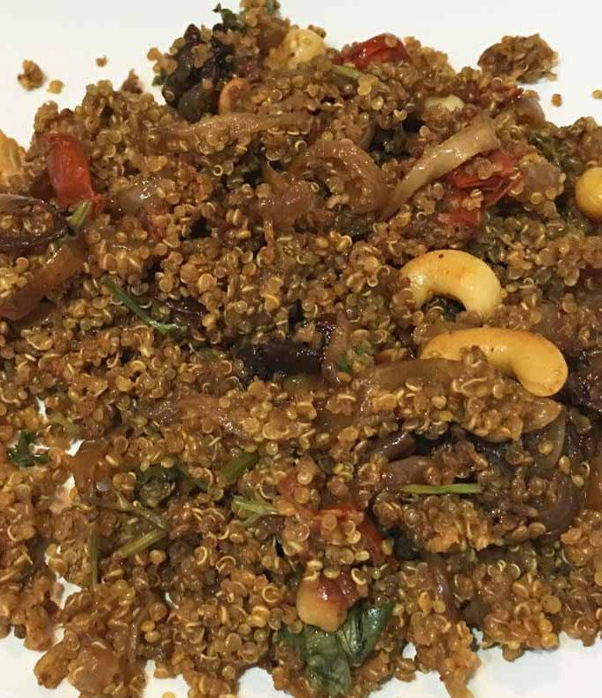 Quinoa Biryani Recipe – Indian Style Quinoa Biryani Recipe – Biryani Without Rice