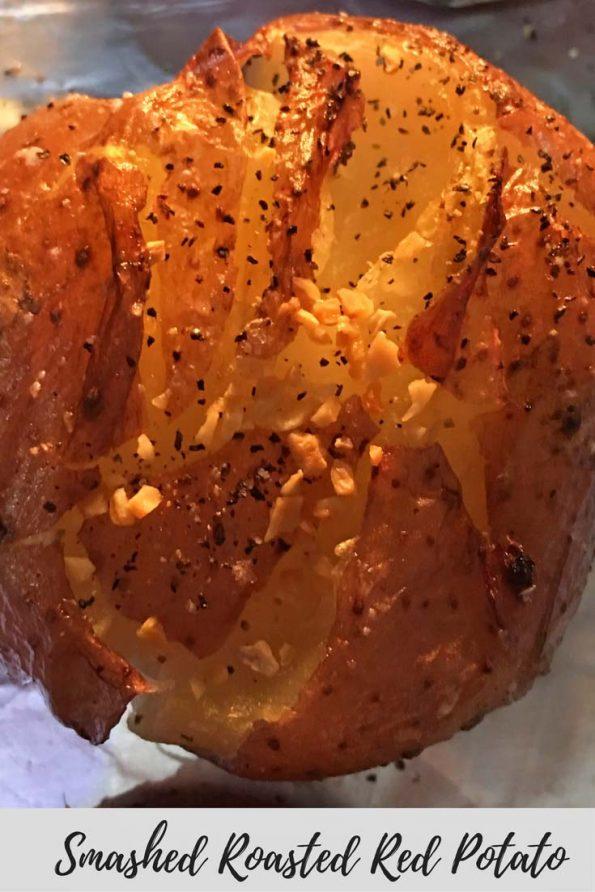 smashed roasted red potatoes recipe