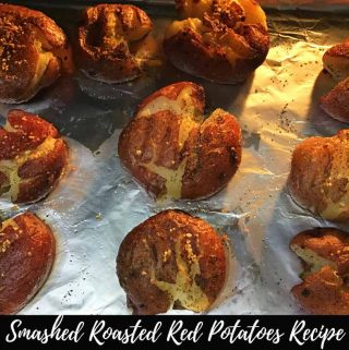 Smashed Roasted Red Potatoes Recipe – Vegan Smashed Potatoes Recipe For Dinner