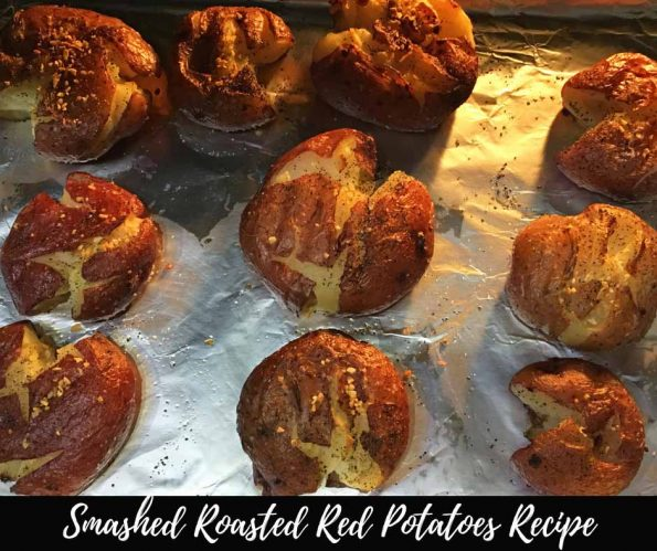 smashed roasted red potatoes recipe from scratch