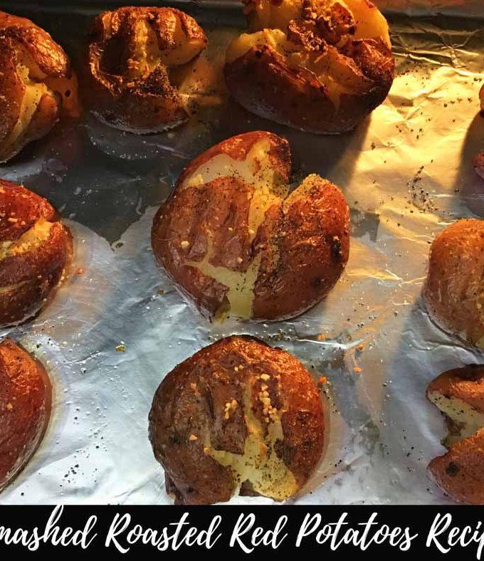 Smashed Roasted Red Potatoes Recipe – Vegan Smashed Potatoes Recipe For Dinner