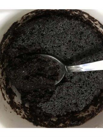 vegan chocolate mug cake recipe