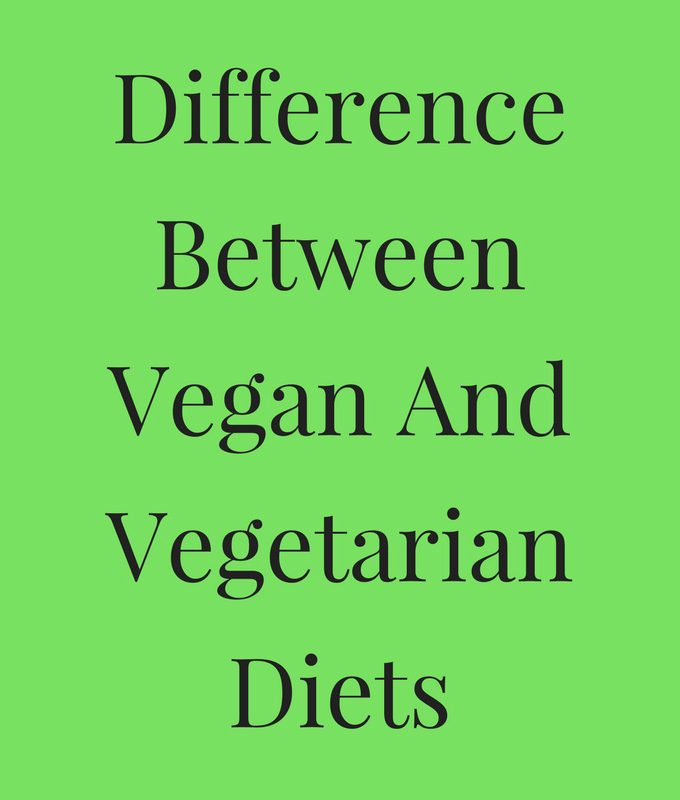 What Is The Difference Between A Vegan And A Vegetarian Diet