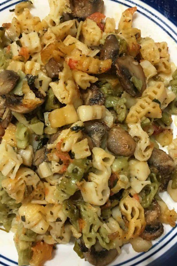 baked mushroom pasta recipe vegetarian