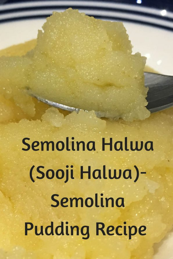 easy sooji halwa recipe
