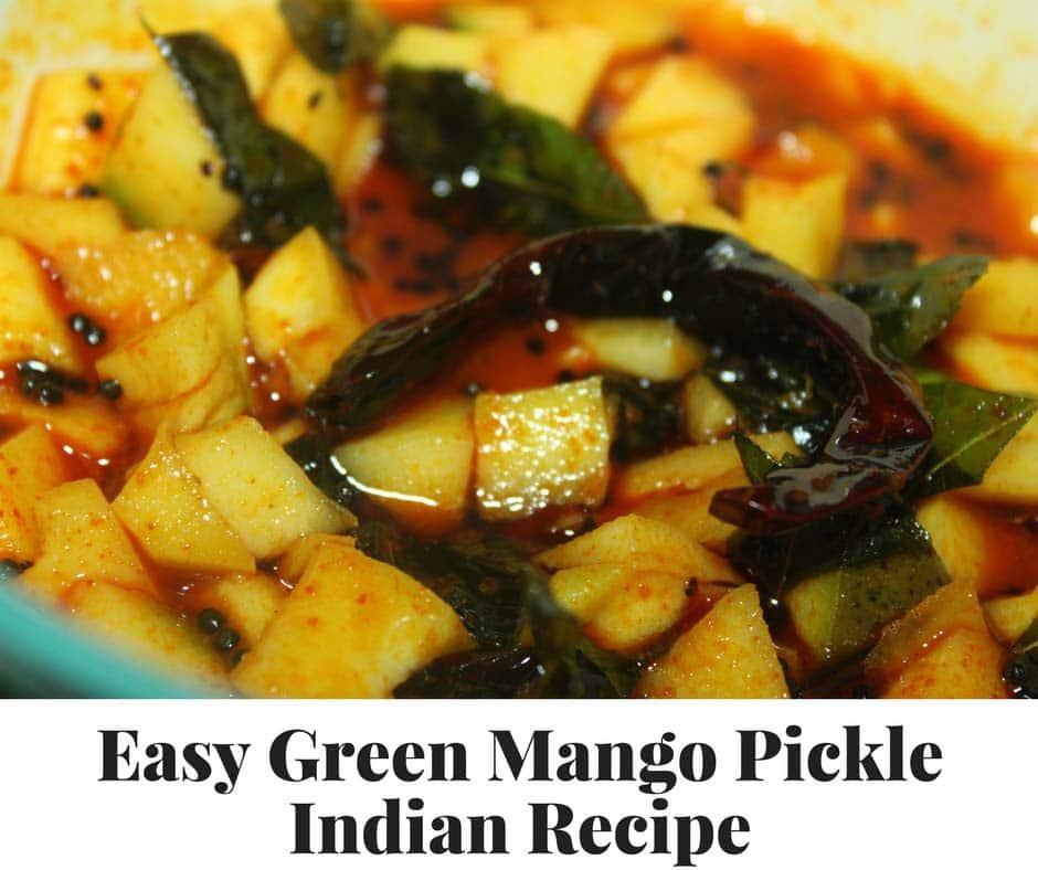 green mango pickle recipe indian