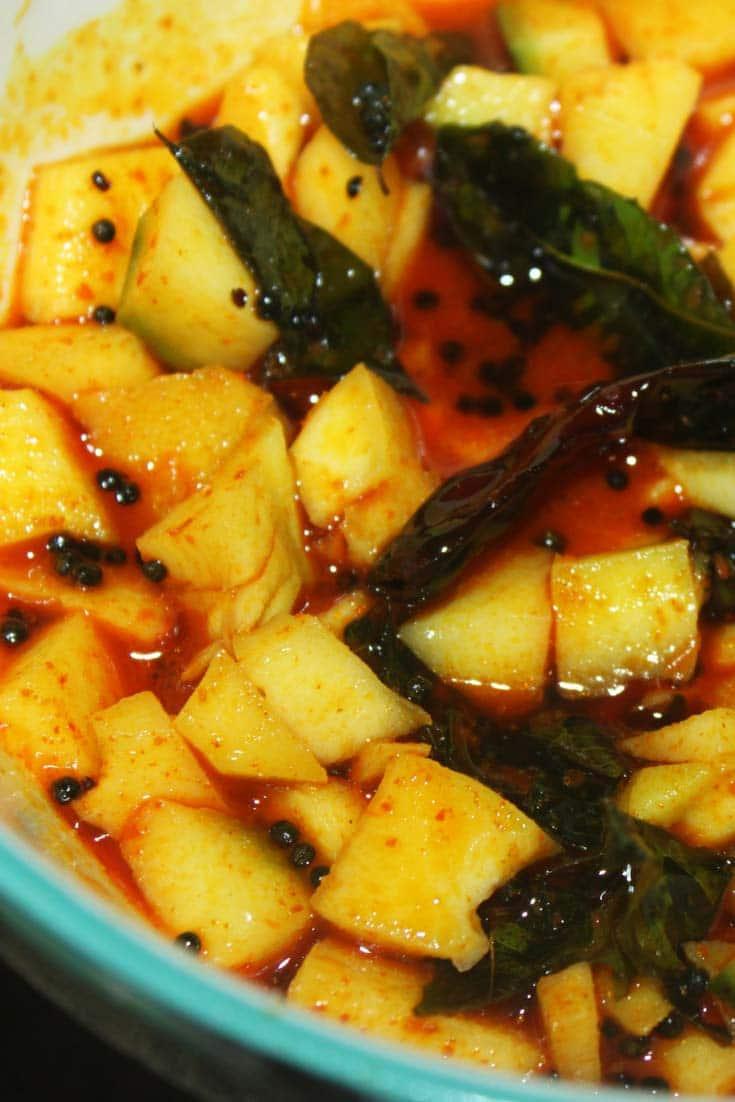 green mango pickle recipe kerala style