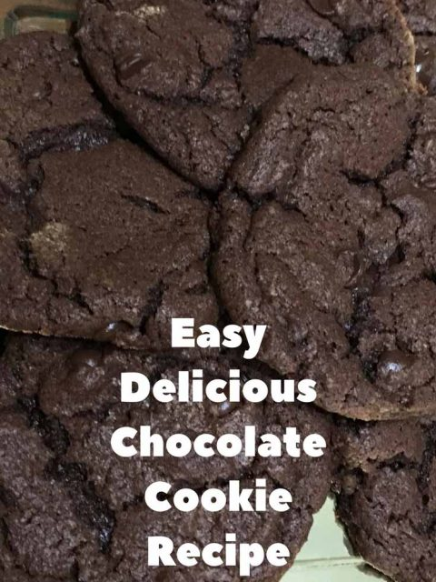 homemade chocolate cookie recipe from scratch