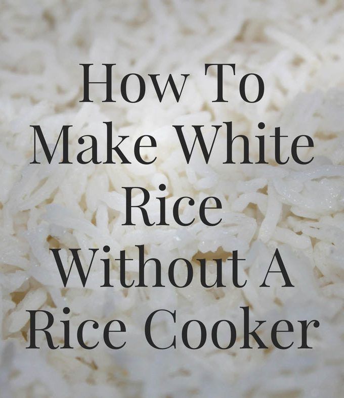 How To Make White Rice Without Rice Cooker – How To Cook/Prepare Perfect Rice Without Rice Cooker