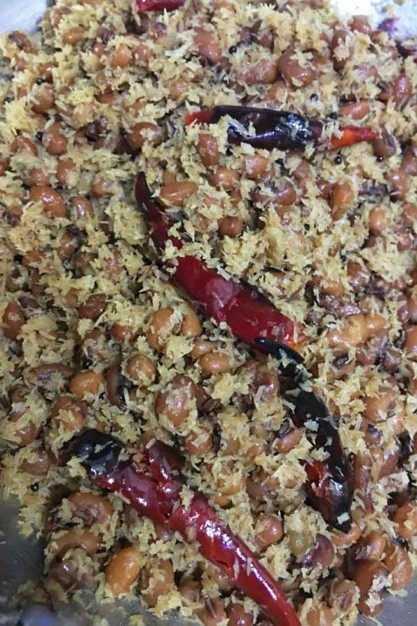 make vanpayar thoran kerala style recipe