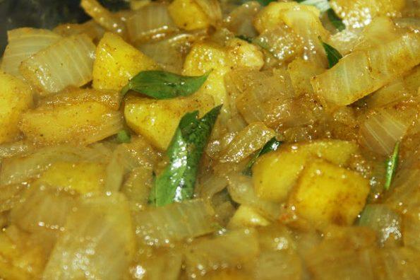 potato masala for rice south indian