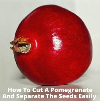 remove pomegranate seeds easily