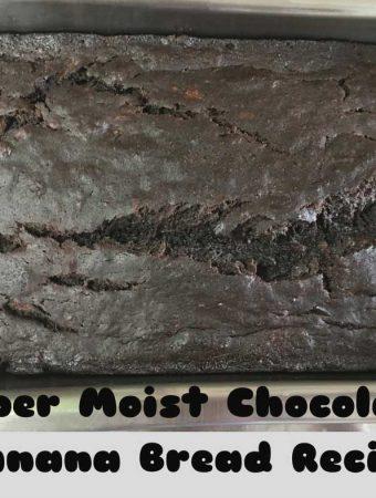 super moist chocolate banana bread recipe