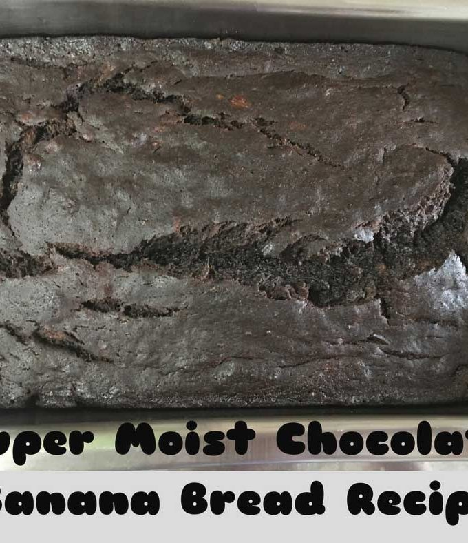 super moist chocolate banana bread recipe