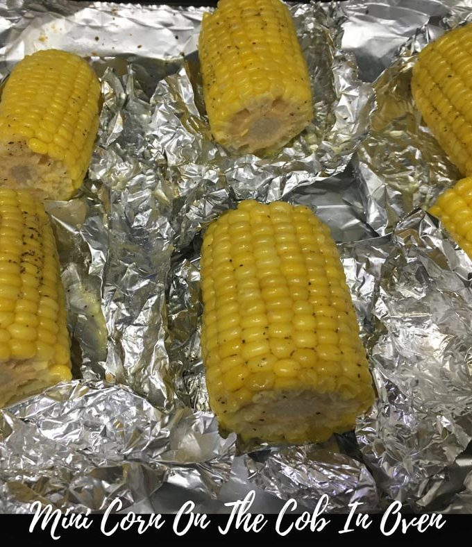 Corn On The Cob In Oven – Mini Frozen Corn On The Cob In Oven – How To Prepare Corn On The Cob