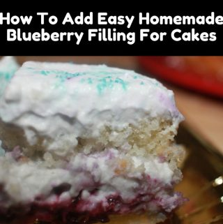 Blueberry Filling For Cake – How To Make Blueberry Filling For Cake – How To Add Blueberry Filling In Simple Layered Cakes