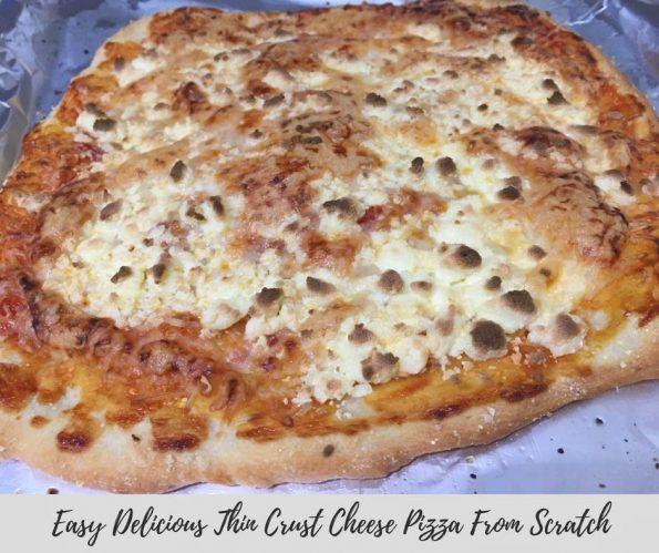 easy thin crust pizza recipe