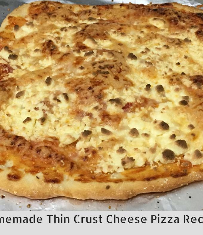 Easy Thin Crust Pizza Recipe – Homemade Thin Crust Pizza Recipe From Scratch