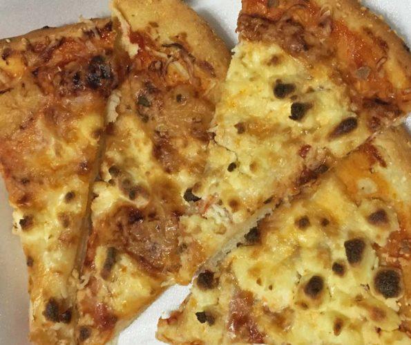 easy thin crust pizza recipe slices