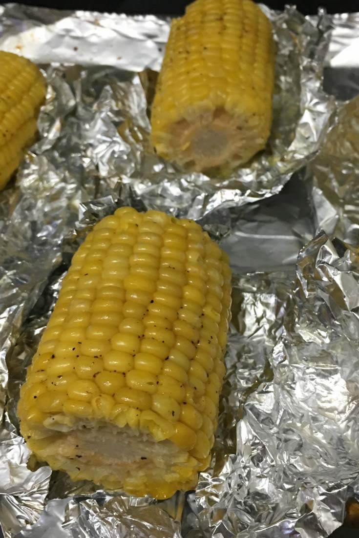 how to make corn of the cob in oven
