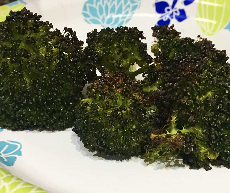 how to roast broccoli florets