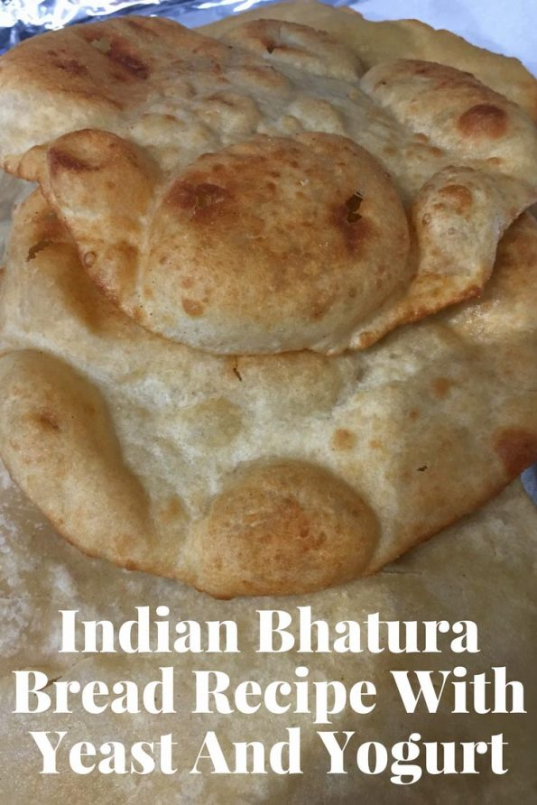 indian bhatura bread recipe with yeast