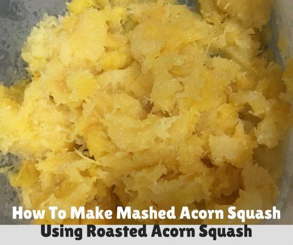 mashed acorn squash recipe scratch