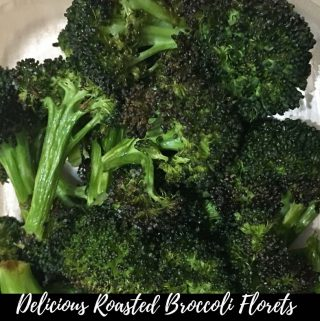 Oven Roasted Broccoli Recipe – Oven Baked Broccoli Florets Recipe – Easy Roasted Broccoli Florets Recipe