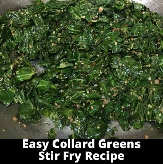 quick collard greens vegetarian recipe