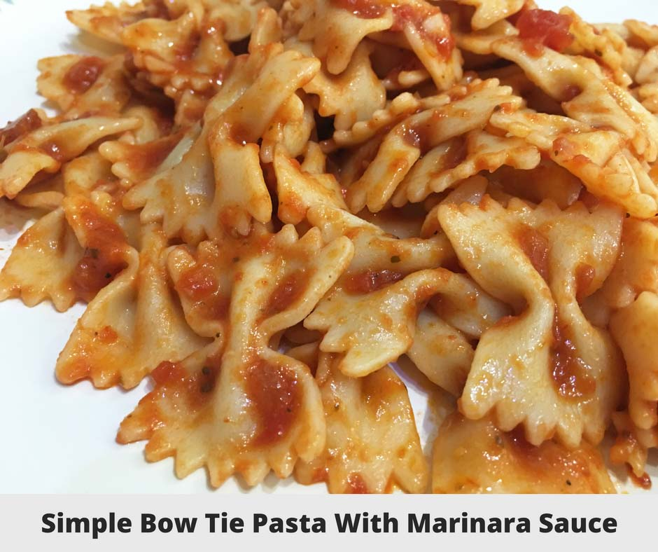 simple bow tie pasta recipe