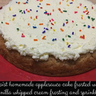 super moist applesauce cake recipe
