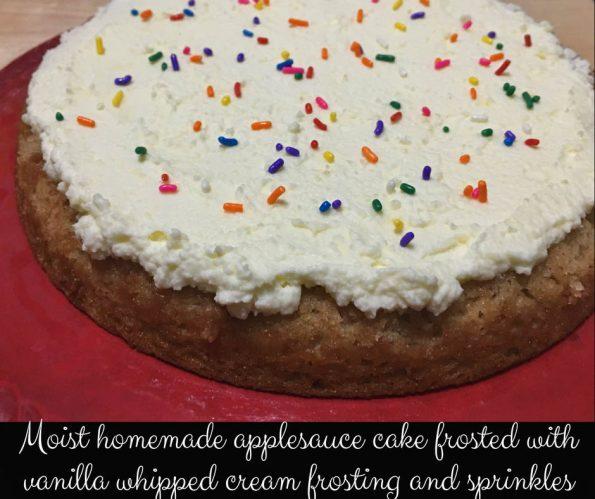 super moist applesauce cake recipe